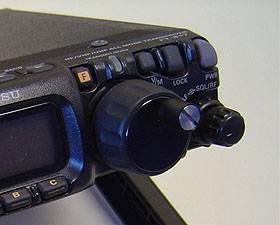 FT-817用メインダイヤルAS-817DL